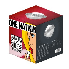 One Nation Premium Shisha Cubes #26er 1kg
