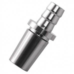 Lava Schliff-Connector Silver